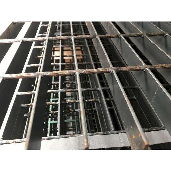 25mm x 3mm 41/100 Mild Steel Open Grill Steel Flooring Self Colour Open Steel Flooring