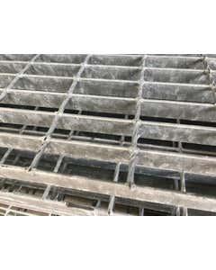 25mm x 3mm 41/100 Mild Steel Open Grill Steel Flooring Galvanised Open Steel Flooring