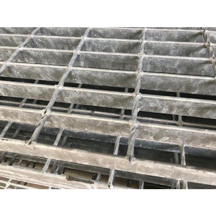 30mm x 3mm 41/100 Mild Steel Open Grill Steel Flooring Galvanised Open Steel Flooring