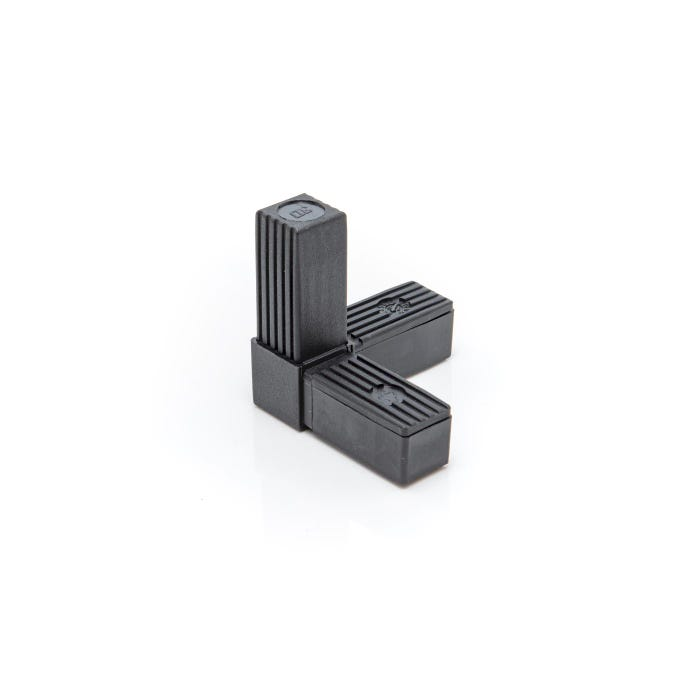Heavy Duty Square Tube Connectors 25mm 3 Way