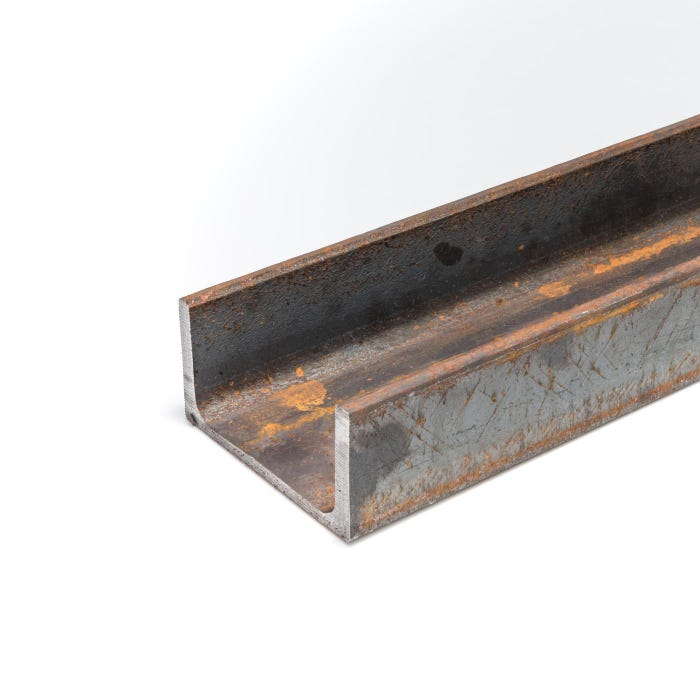 51mm x 38mm x 5.8 Mild Steel Channel