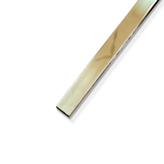 Bright Polished Brass Square Bar 22.22mm (7/8