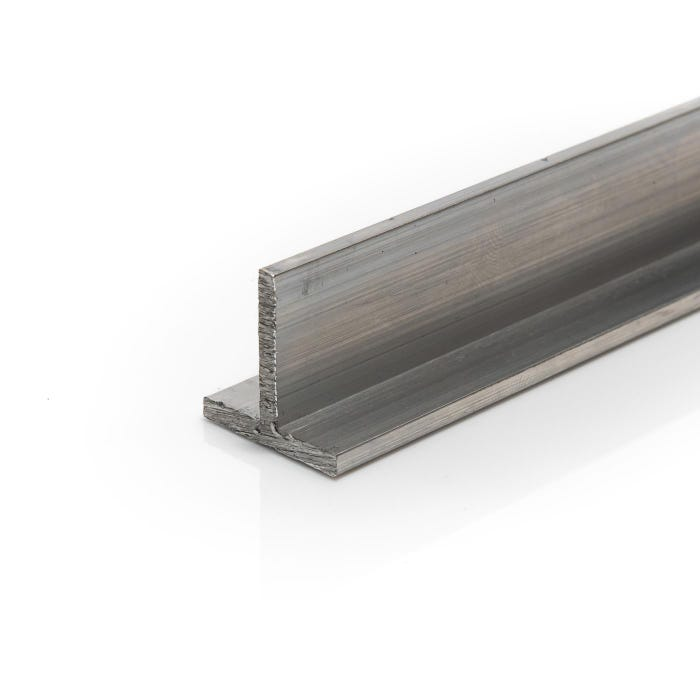 Aluminium T section 25.4mmX25.4mmX3.2mm (1