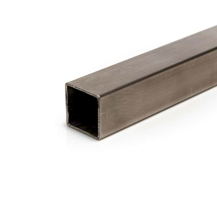 Stainless Steel Box Section 40mm x 40mm x 3mm 304 Brushed Polished