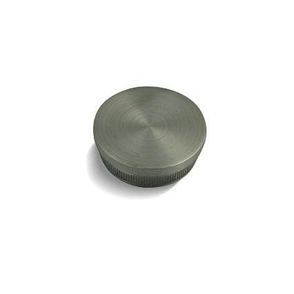 42.4mm x 2mm Balustrade End Cap (Radius) For 42 x 2mm Tube