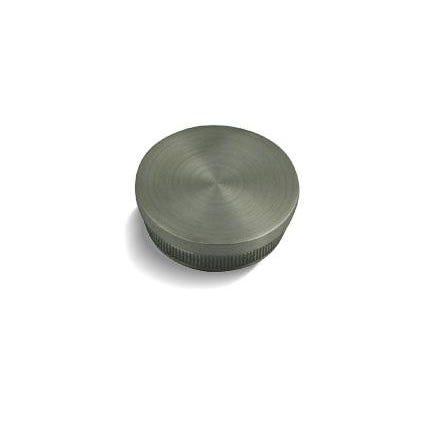 42.4mm x 2.6mm Balustrade End Cap (Radius) for 42 x 2.6mm Tube