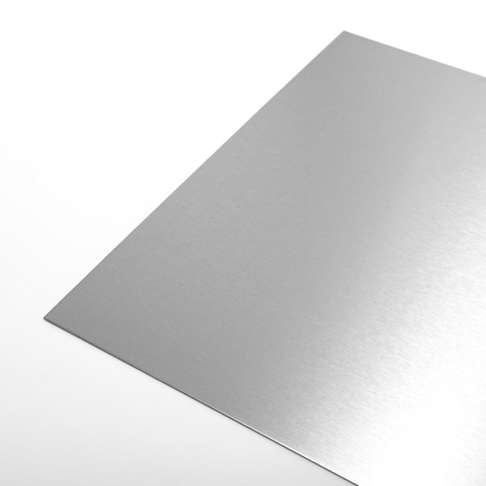 Brushed Polished Stainless Steel Sheet 0.9mm 316