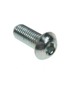 M6 BZP Button Head Screws M6 x 8