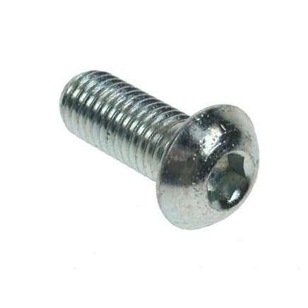 M12 BZP Button Head Screws M12 x 35