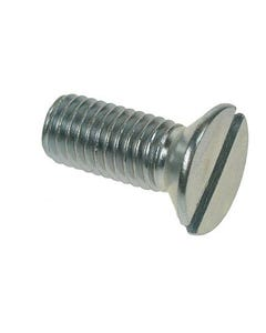 M6 Countersunk Slotted Machine Screws M6 x 10mm