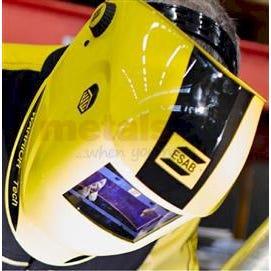 Auto Darkening Helmets Warrior Tech Yellow