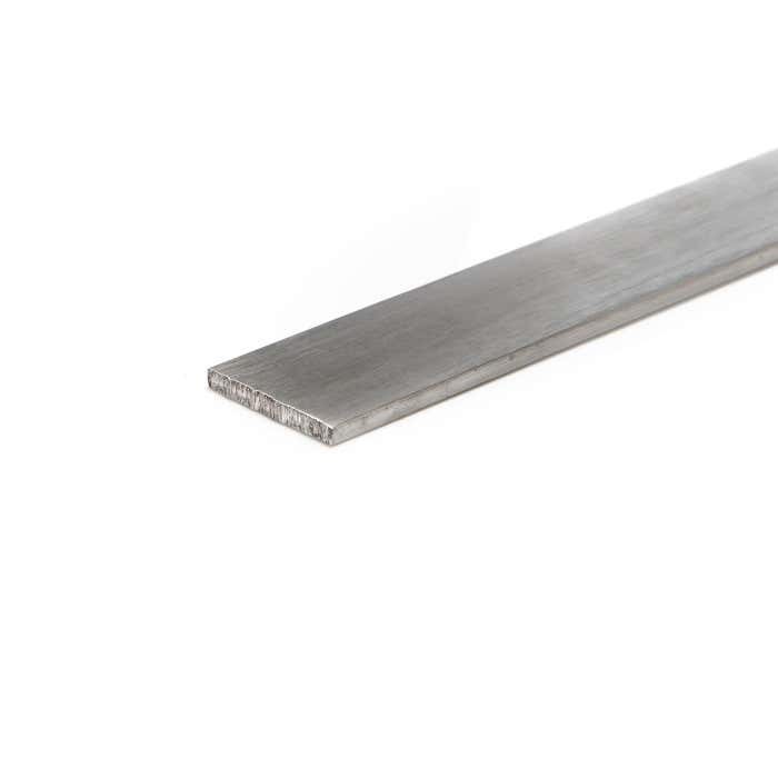 Brushed Aluminium Flat 101.6mm X 6.3mm (4