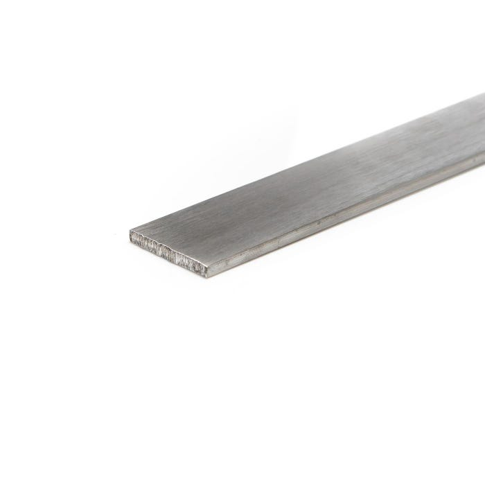 Brushed Aluminium Flat 50.8mm X 12.7mm (2