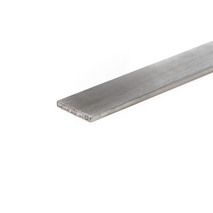 Brushed Aluminium Flat 76.2mm X 6.3mm (3