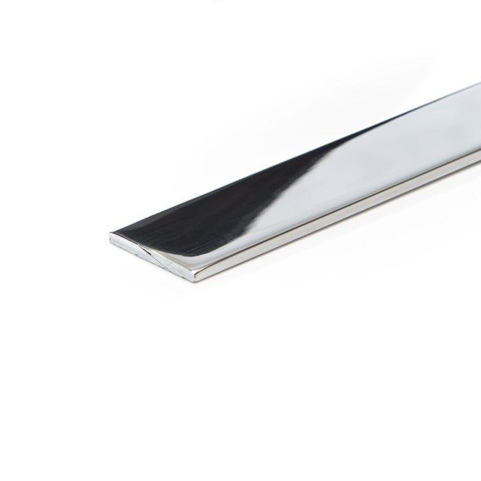 Bright Polished Aluminium Flat 50.8mm X 3.2mm (2