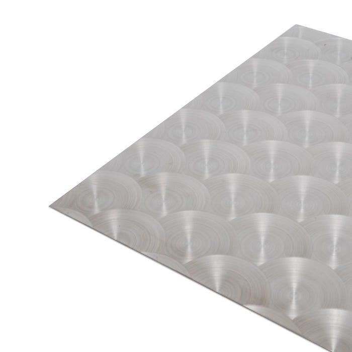 Circular Polished Stainless Steel Sheet 0.9mm