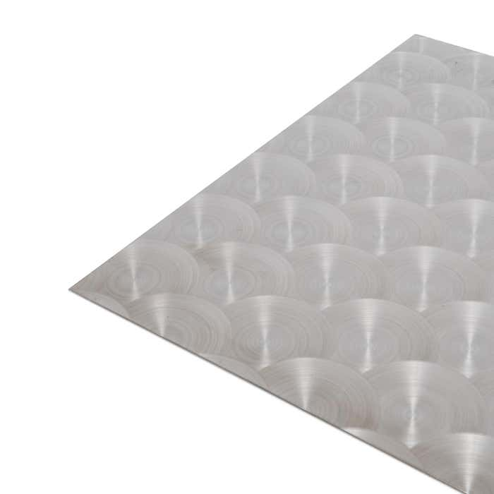 Circular Polished Stainless Steel Sheet 1.5mm
