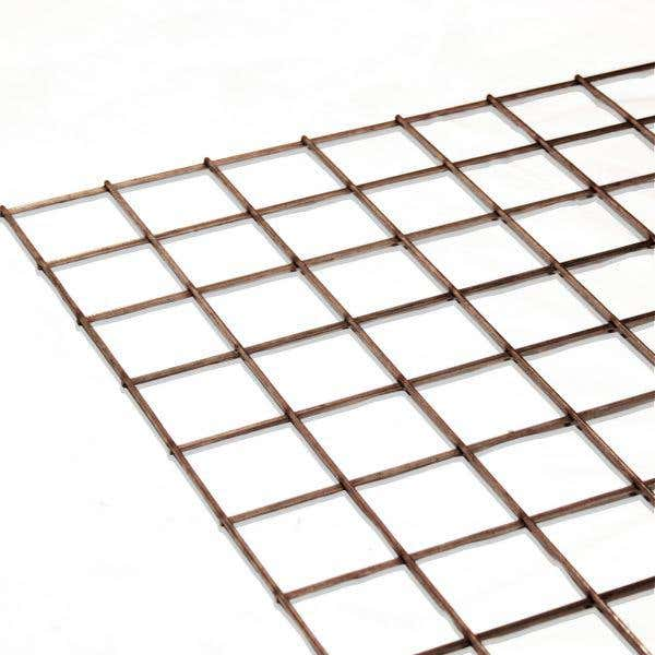 Stainless Steel Mesh Sheet 25.4mm x 25.4mm x 1.6mm (1