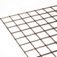 """Stainless Steel Mesh Sheet 38.1mmX38.1mmX3.2mm(1 1/2""""X1 1/2""""X10swg)"""