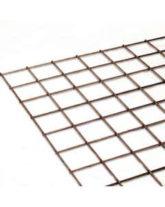 "Stainless Steel Mesh Sheet 50.8mm x 50.8mm x 3.2mm (2""x2""x10 swg)"