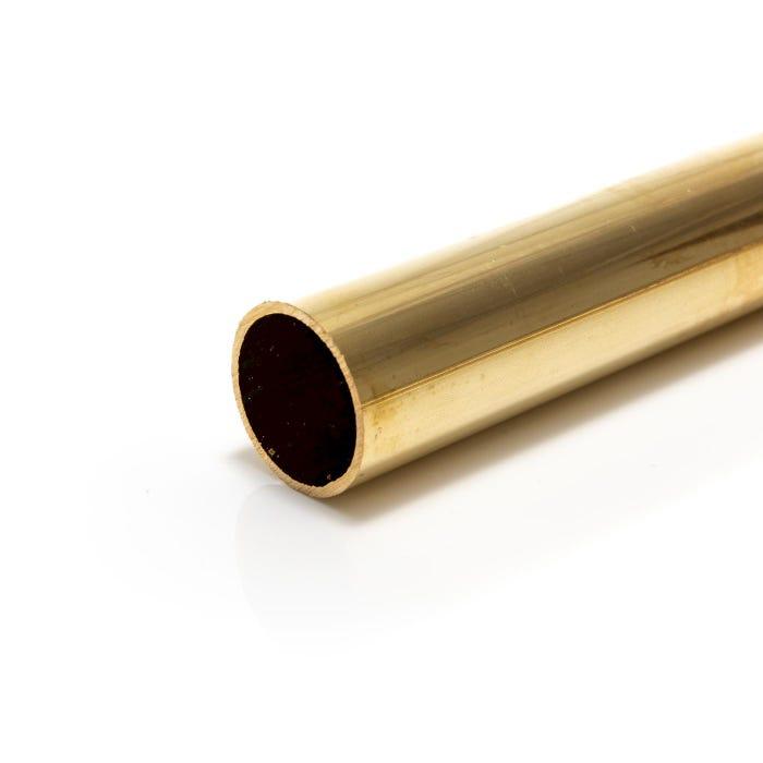 Brass Tube 12.7mm X 1.6mm (1/2