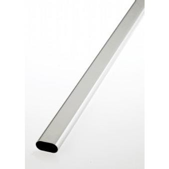 Oval tube and rail fittings 30mm x 15mm Tube