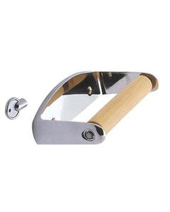 Bathroom fittings Locking toilet roll holder