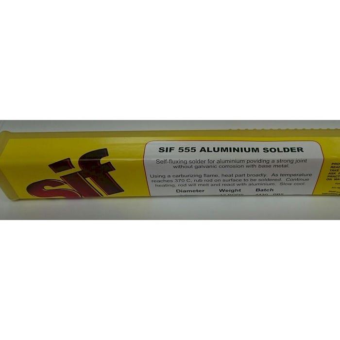Aluminium Solder Rods 555 AL SOLDER 3MM 12 RODS