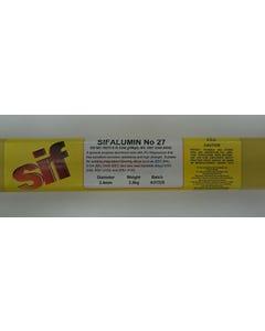 Aluminium Solder Rods SIFALUMIN NO 27 5356 1.6MM 2.5KG
