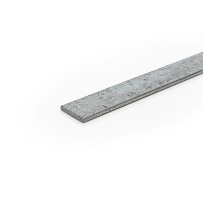 75mm x 6mm Mild Steel Galvanised Flat