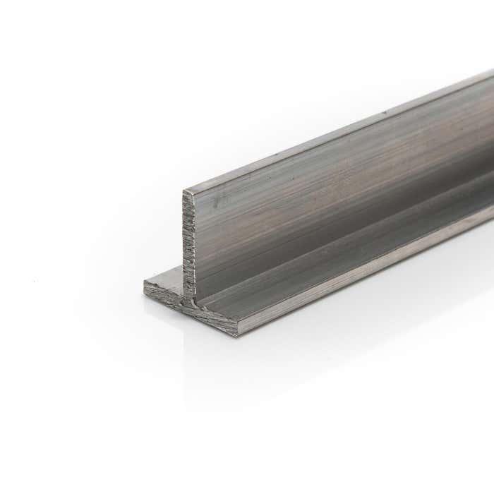 Aluminium T section 50mmX50mmX3mm