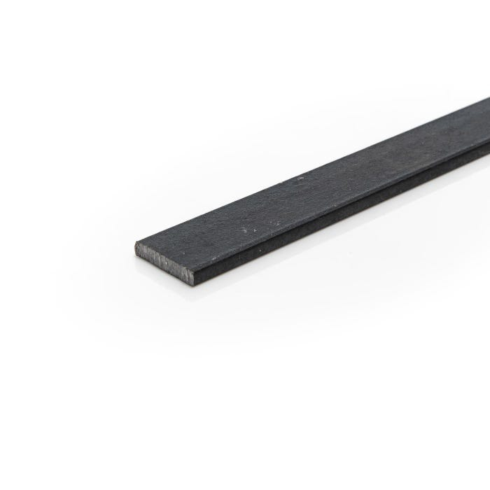 25mm x 6mm Mild Steel Flat Black