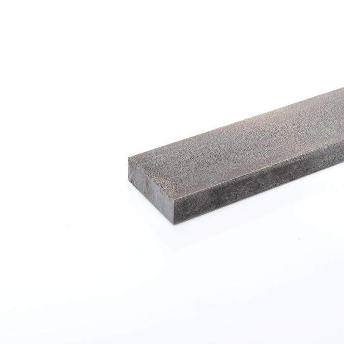 80mm x 10mm Mild Steel Flat Bright