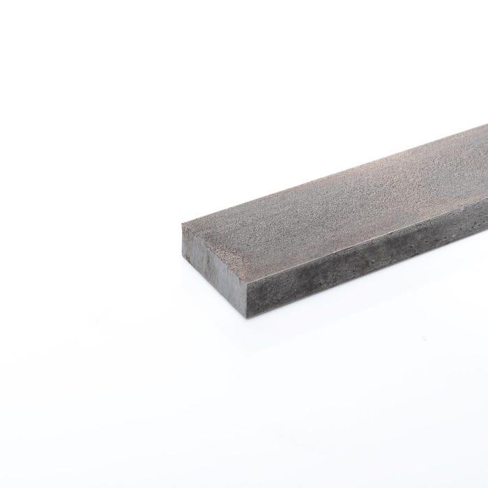 80mm x 25mm Mild Steel Flat Bright