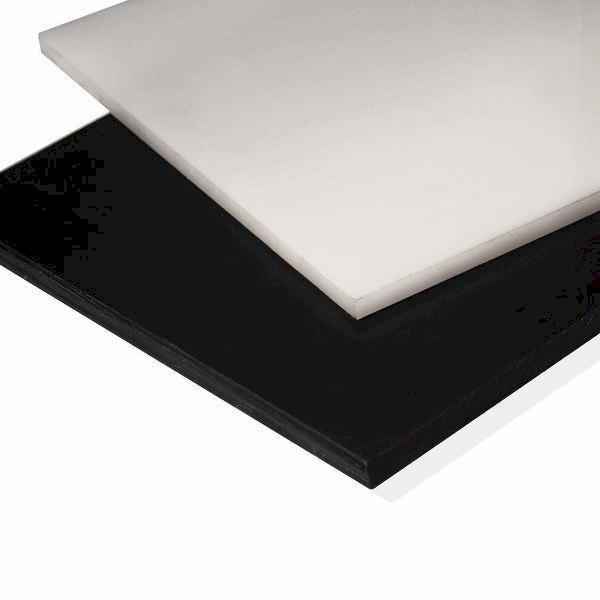Nylon Plastic Sheet 8mm Black