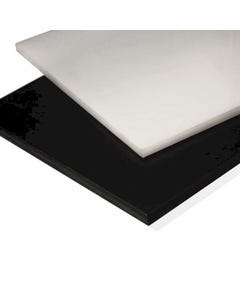 Nylon Plastic Sheet 12mm Black