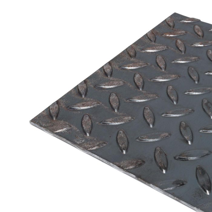 3mm Thick Checker Plate Mild Steel