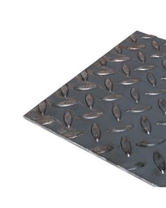 6mm Thick Checker Plate Mild Steel