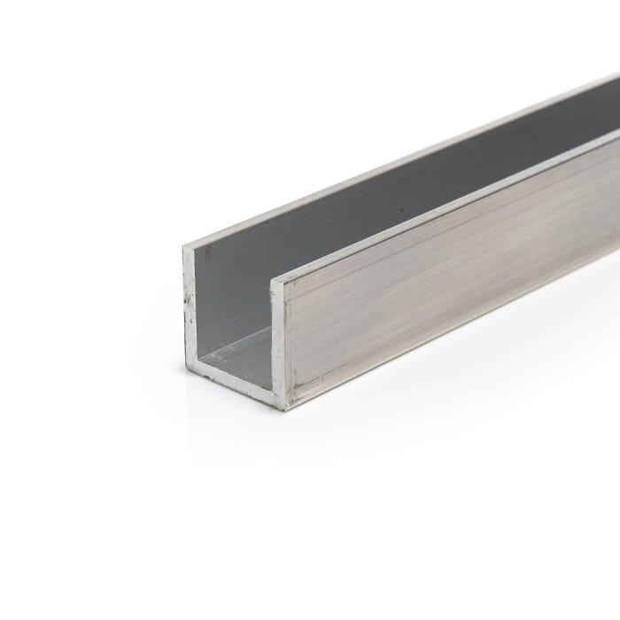 Aluminium Channel 38.1mmX19.05mmX3.2mm (1.1/2