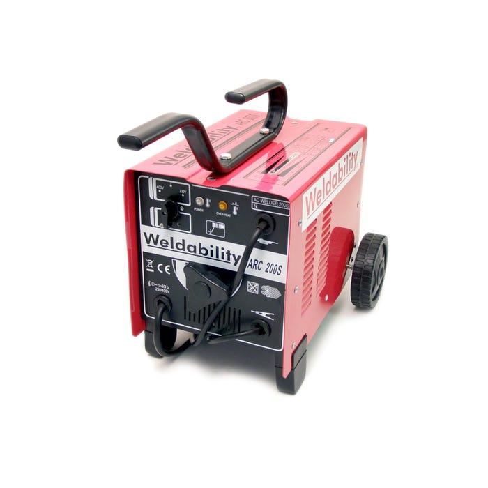 Stick Welders - AC ARC 200S MACHINE 230V/400V