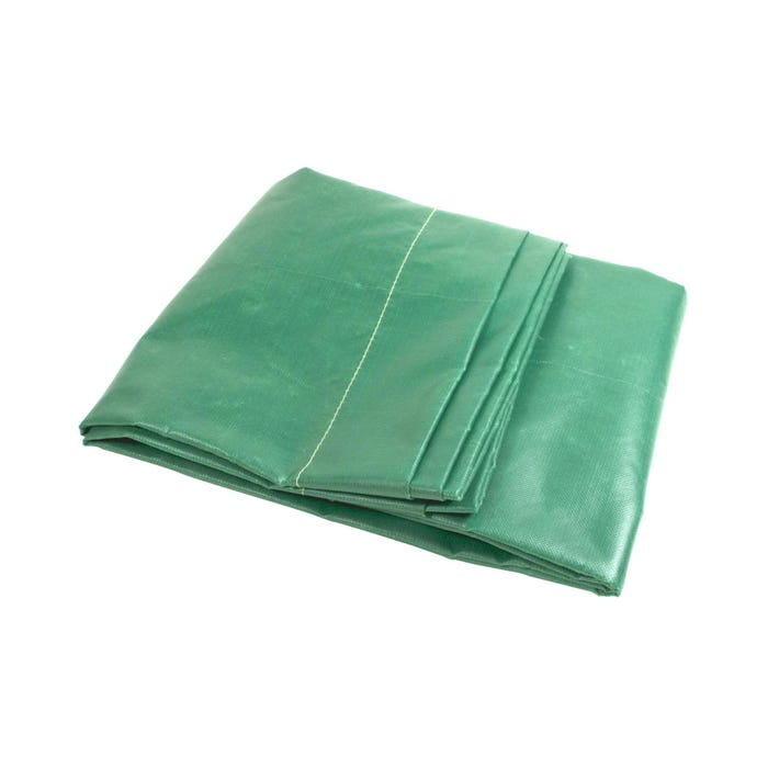 Curtains and Frames 6 X 4 GREEN CANVAS CURTAIN