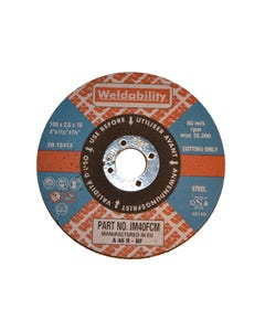 Cutting Discs FLAT CUTTING DISC  (180X2.5X22MM)