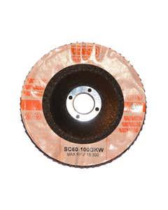 Flap Discs - Ceramic FLAP DISC 100X22MM 60 GRIT - CER