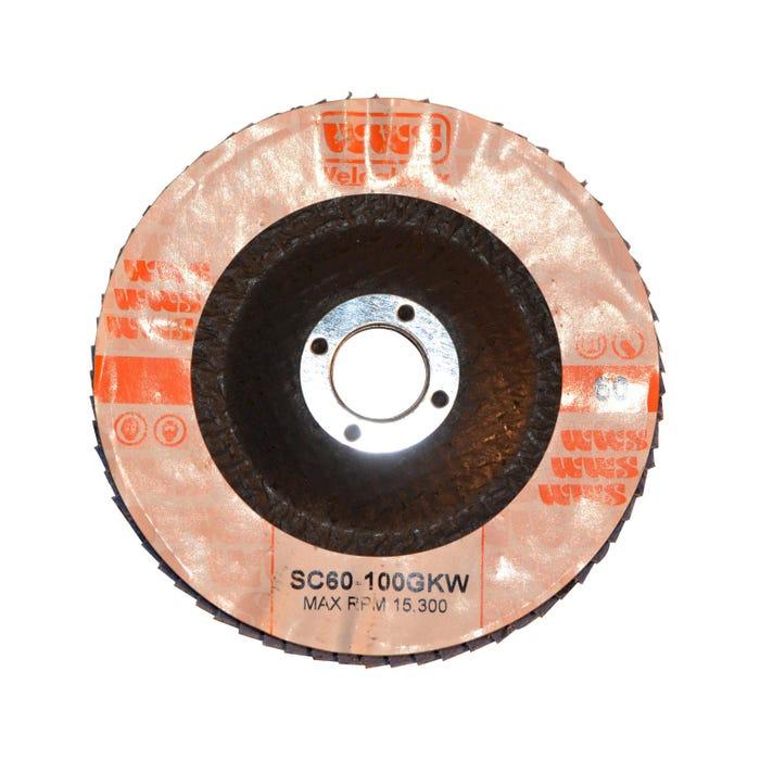 Flap Discs - Ceramic FLAP DISC 115X22MM 60 GRIT - CER