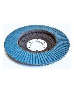 Flap Discs - Zirconium FLAP DISC 115X22MM 60 GRIT - ZIRC