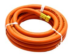 Hose - Fitted 10MM 10MTR 3/8 FITTED ORANGE HOSE