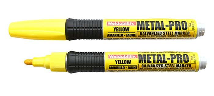 Markers METAL PRO GALV MARKER YELLOW