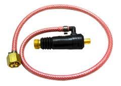 TIG Adaptors 16-25 TIG ADAPTOR C/W 90 DEG ELBOW