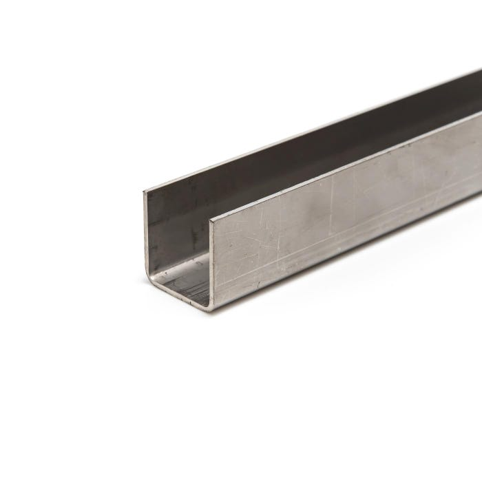 Stainless Steel Channel 25 x 25 x 1.5mm