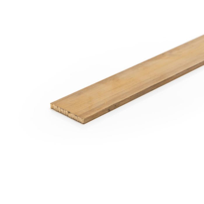 Brass Flat Bar 38.1mm x 15.88mm (1 1/2